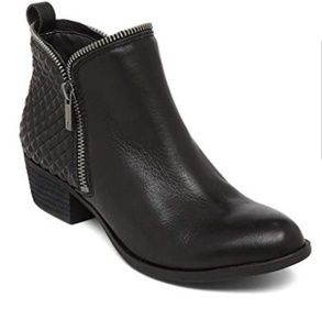 Lucky Brand BARTALINO exposed Zipper Booties 9.5M